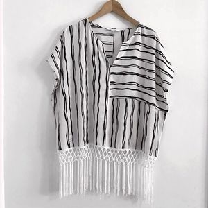 Piperlime top blouse shirt size L